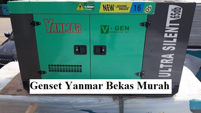 Genset Yanmar Bekas Murah