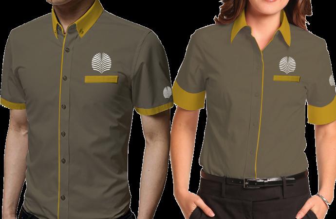 gambar baju kerja pria dan wanita keren