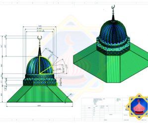 design kubah masjid enamel terbaru sinarsuryaabadi