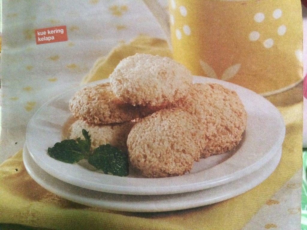 cara membuat kue kering kelapa